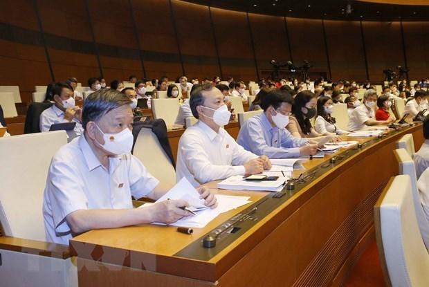 越南第十五届国会第一次会议:在立法工作中勇于创新和主动作为 hinh anh 1