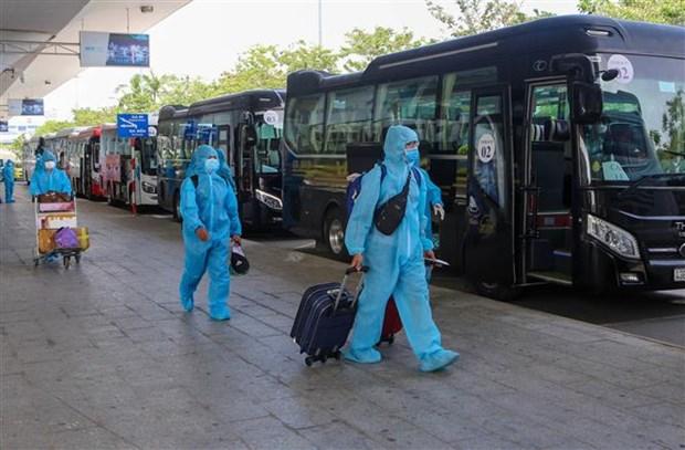 自7月22日0时起,河内对从疫区返乡人员进行集中隔离 hinh anh 2