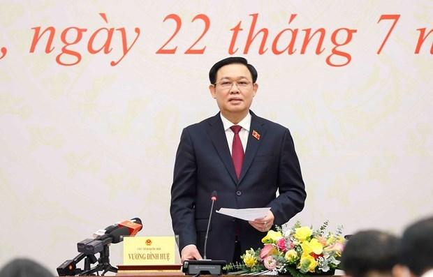 国会主席:紧紧围绕三大核心任务 切实提高国会运作效率 hinh anh 1