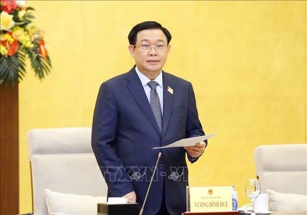 越南国会主席王廷惠:国会将新冠肺炎疫情防控工作纳入决议 hinh anh 1