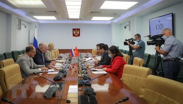 越南提议俄罗斯联邦委员会推动支持转让疫苗生产技术 hinh anh 2
