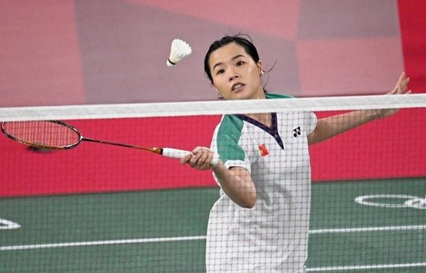 2020年东京奥运会首个比赛日正式开始 越南羽毛球队取得奥运会开门红 hinh anh 1