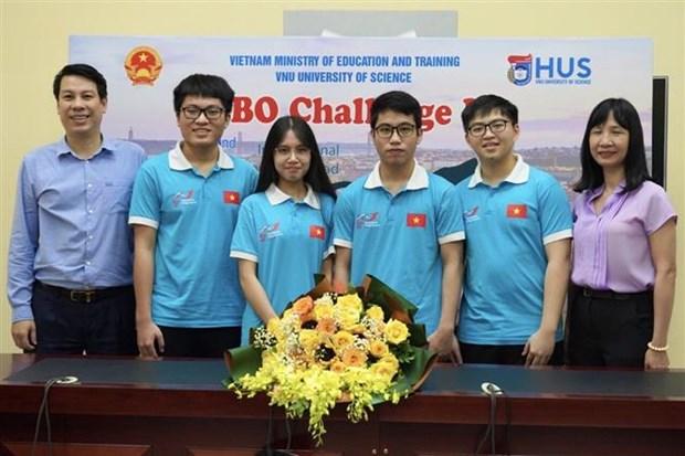 2021年国际物理学奥林匹克竞赛:越南学生夺得三金两银 hinh anh 2