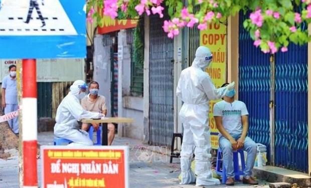 越南累计新冠肺炎确诊病例数超十万例 hinh anh 1