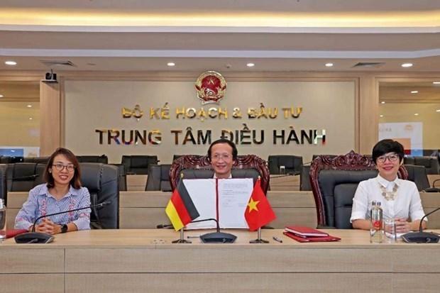 德国承诺向越南提供逾1.1亿欧元的官方发展援助 hinh anh 1