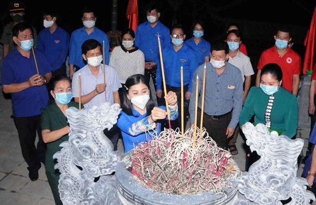 7·27越南伤残军人与烈士日:广治和山罗两省举行感恩活动 hinh anh 2