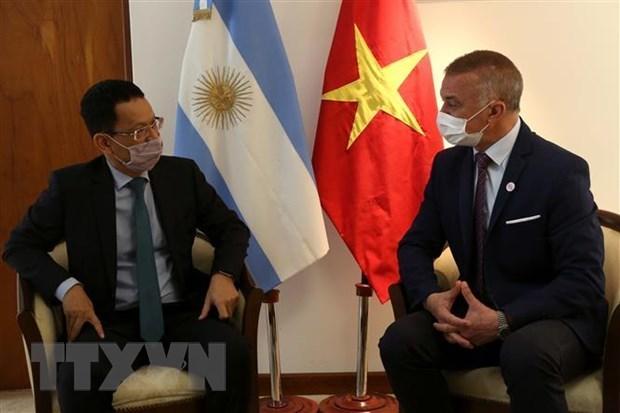进一步加强越南与阿根廷各地方之间的合作 hinh anh 1