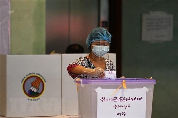 缅甸废除去年大选结果 hinh anh 1
