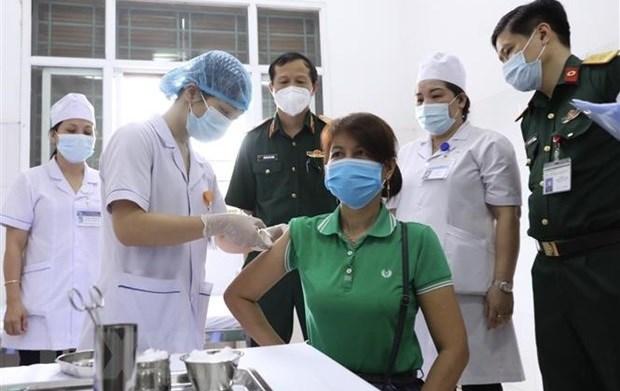 Nano Covax新冠疫苗三期人体试验 为1.2万名志愿者接种第二针 hinh anh 1