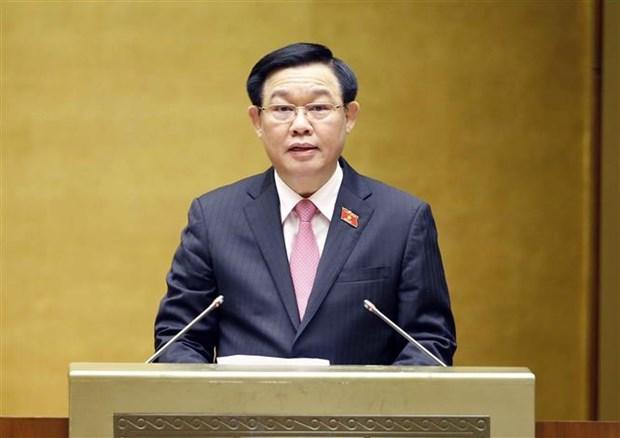 国会主席王廷惠:有效落实有功者政策 巩固民族大团结 hinh anh 1