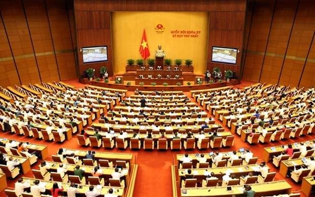 第十五届国会第一次会议:讨论两项重要的国家目标计划 hinh anh 1