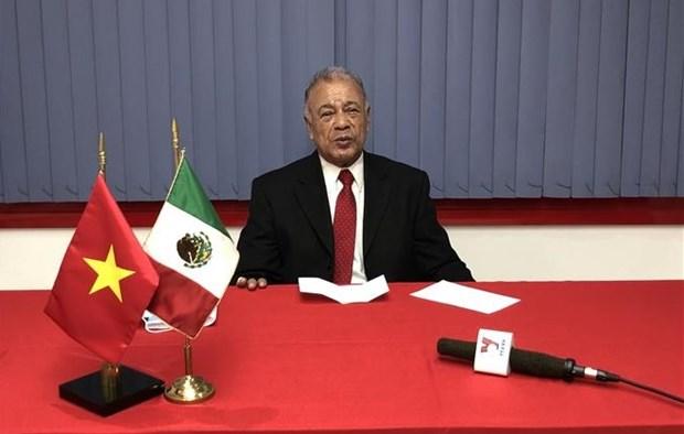 墨西哥劳动党主席:选择建设社会主义道路是越南共产党的正确决策 hinh anh 1