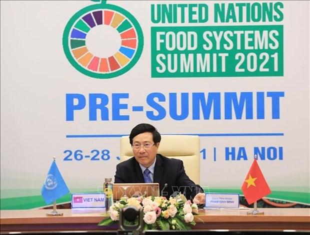 越南希望成为粮食系统的创新中心 hinh anh 1