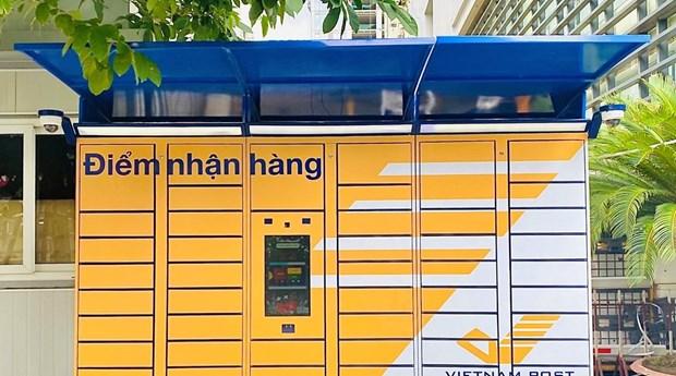 越南邮政试行提供24小时全天候无接触配送服务 hinh anh 1