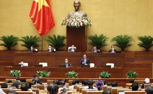 越南第十五届国会第一次会议:为农民成为新农村建设的主体奠定基础 hinh anh 1