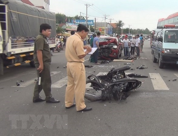 2021年前7个月越南交通事故死亡人数为3635人 hinh anh 1
