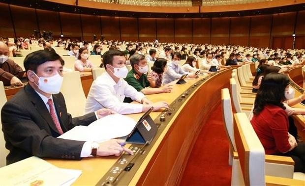 第十五届国会第一次会议:决定政府组成人员名额27人 hinh anh 1
