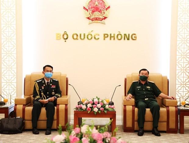 进一步促进越南与韩国防务合作 hinh anh 1