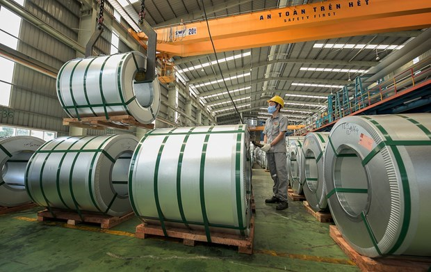 越南钢铁出口额增长123% hinh anh 1