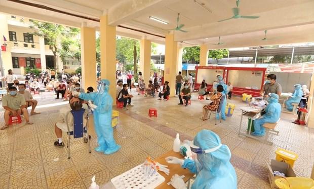 8月2日上午越南新增3201例新冠肺炎确诊病例 新冠病毒检测量达620万份 hinh anh 1