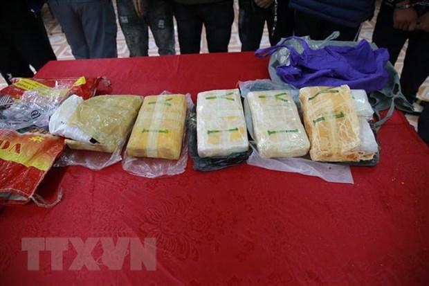 越南与老挝加强禁毒合作 hinh anh 2