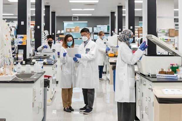 越南Vingroup集团与美国Arcturus公司签署mRNA新冠疫苗技术转让协议 hinh anh 1