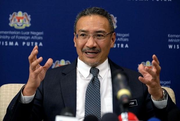 东盟-美国外长会议:马来西亚重申东海必须是和平、稳定的海域 hinh anh 1