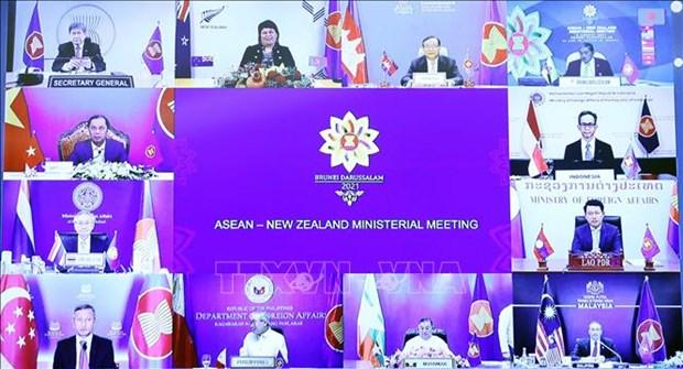 东盟与新西兰外长会议:保持密切合作和确保地区的和平、安全与稳定 hinh anh 2