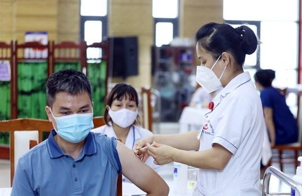 谅山、老街、清化三省积极开展新冠疫苗接种计划 hinh anh 1