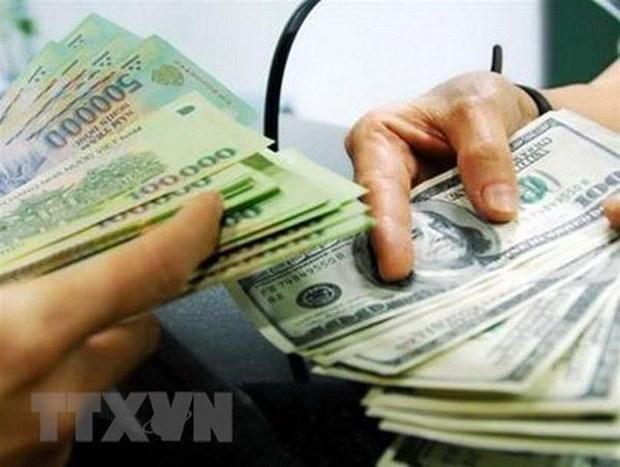 8月6日上午越盾对美元汇率中间价下调3越盾 hinh anh 1