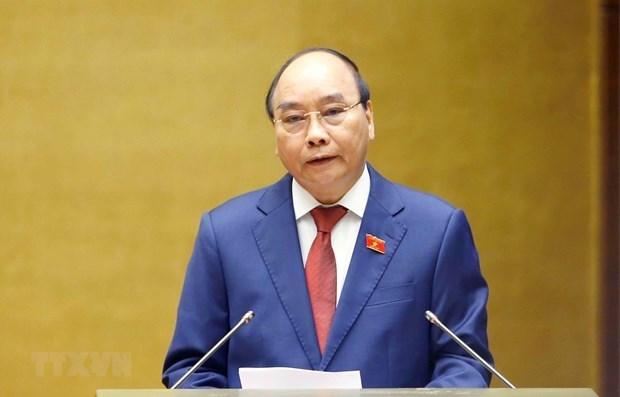 越南国家主席阮春福将对老挝进行正式友好访问 hinh anh 1