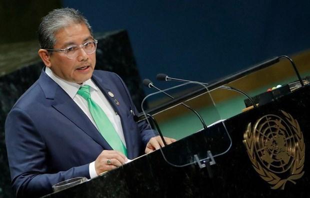 联合国秘书长和马来西亚欢迎东盟任命缅甸问题特使 hinh anh 1
