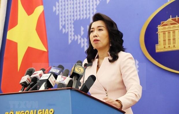 外交部例行记者会:帮助在日本大阪府被杀害的越南男子家属 hinh anh 1