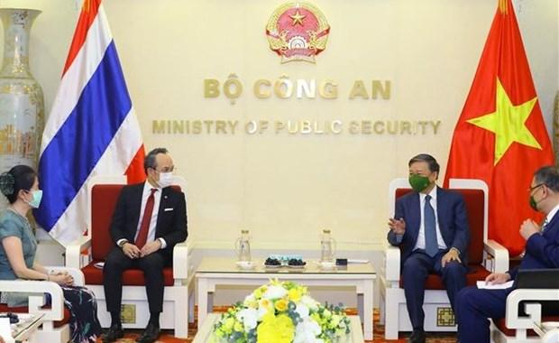 越南与泰国加强打击犯罪合作 hinh anh 1