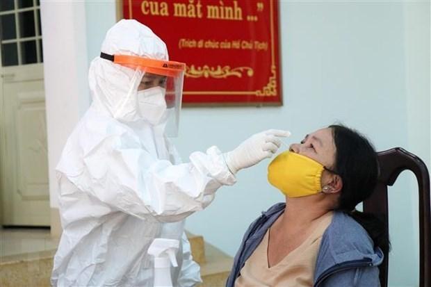 8月7日上午越南新增本土确诊病例3794例 累计疫苗接种量852.8267万剂次 hinh anh 1