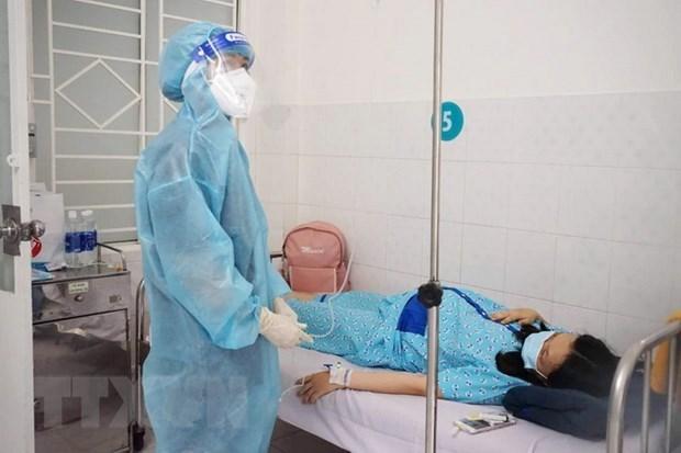 胡志明市设立新冠肺炎孕妇患者治疗专区 hinh anh 1