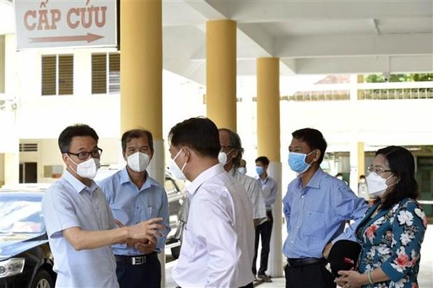武德儋副总理:朔庄省须尽快发现疫情来袭 坚决防止疫情向社区蔓延 hinh anh 2