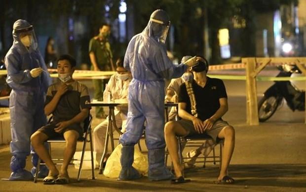 8月9日早上越南新增5155例 累计治愈出院病例71497例 hinh anh 1