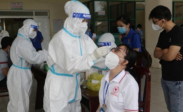 河内市将对高风险地区和人群加快新冠病毒检测进度 hinh anh 1