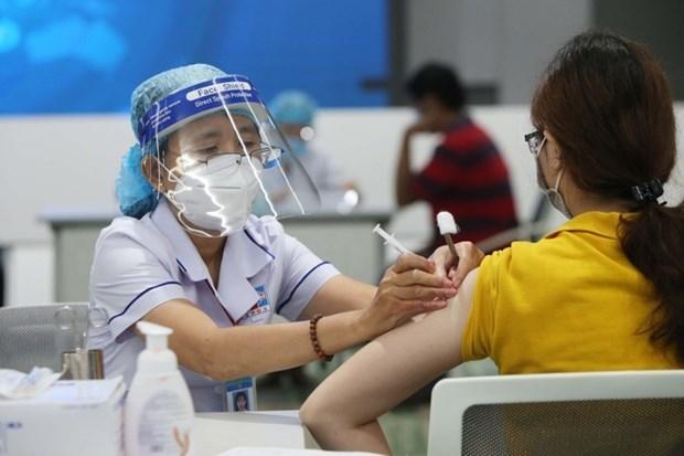 与中国广西接壤的广宁省边境县份加快疫苗接种进度 hinh anh 1
