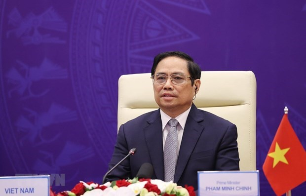 越南政府总理范明政:海上安全是全球性问题 需要全球性解决方案 hinh anh 1