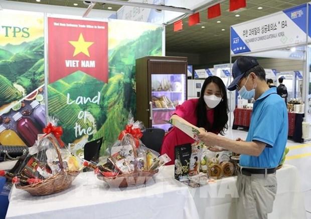 越南与韩国国际食品饮料展即将线上举行 hinh anh 1