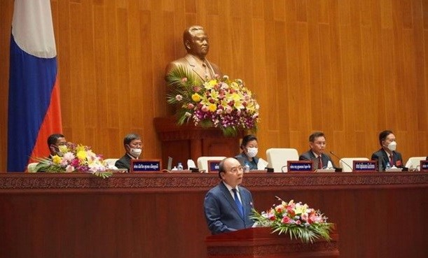 越南国家主席阮春福访老期间的系列活动 hinh anh 3