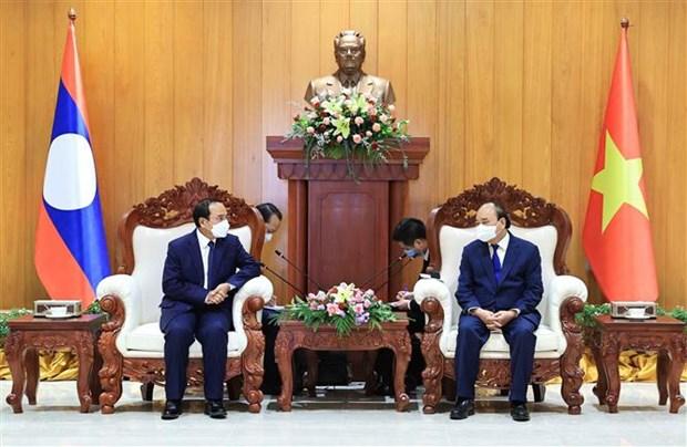 越南国家主席阮春福访老期间的系列活动 hinh anh 1