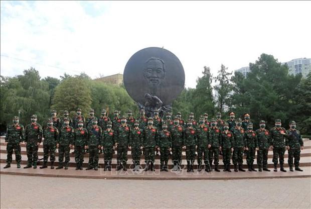越南国防部关于2021年国际军事比赛包含三种语言的网站即将上线 hinh anh 2
