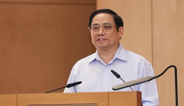 政府总理范明政:建设创新型、廉政型、行动型、高效型、服务型的第十五届政府 hinh anh 1