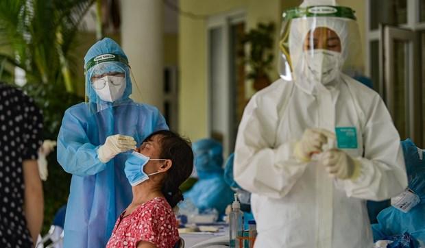 新冠肺炎疫情:河内市对130万人进行新冠RT-PCR检测 hinh anh 1
