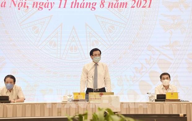 政府7月份例行记者会:全力以赴做好防疫工作 保持可持续增长 hinh anh 1