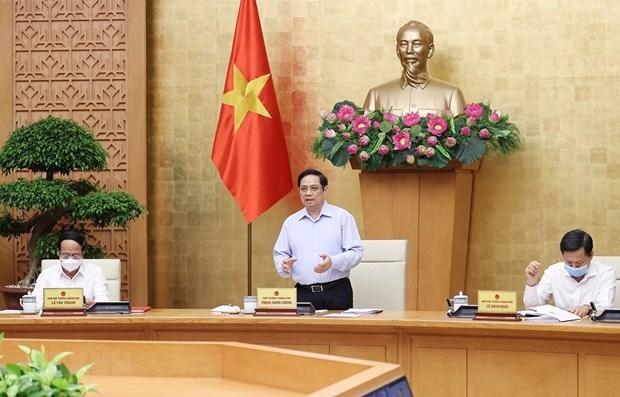政府总理范明政:2021年前7月宏观经济运行基本稳定 hinh anh 1