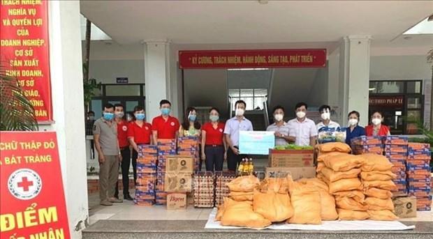 越南红十字会为新冠肺炎疫情影响人群积极开展帮扶活动 hinh anh 1